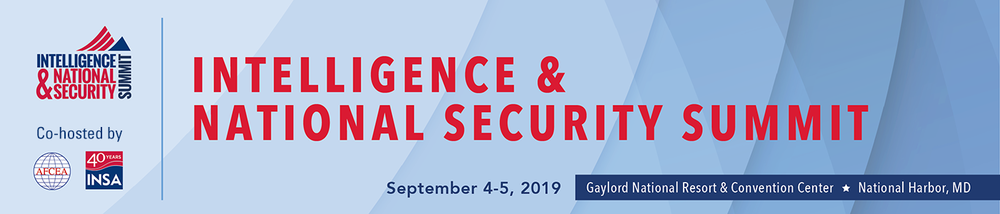 2019 Intelligence & National Security Summit