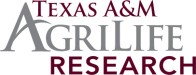 Texas A&M AgriLife Research Logo
